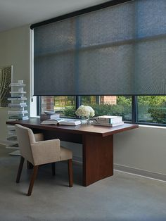 Enjoy The View From Your Office Or Home Office. Screen Shades Help Keep The  Light In While Providing Privacy When Needed. Commercial Or Residential    We ...