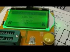 LCR ESR Transistor-tester CALIBRATION - YouTube