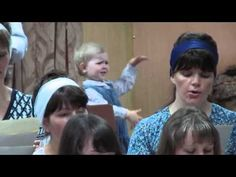 This Little Girl Wanted in on the Fun with the Church Choir, But Singing Wasn't Exactly On Her Mind