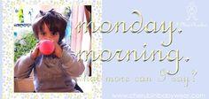 even piccoli principi suffer from monday morning syndrome :-)  http://cherubinibabywear.com
