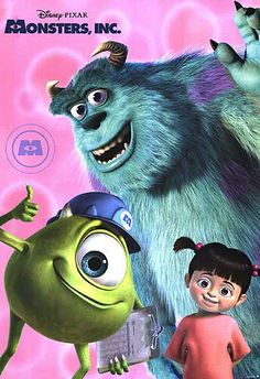 I always wanted them to make another one where Boo is older but gets to see Mike & Sulley again.