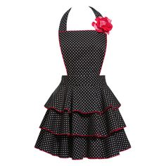 If I didn't already have aprons I never wear, I'd totally get this cute vintage insipired one