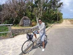 Cycling around the Ie island