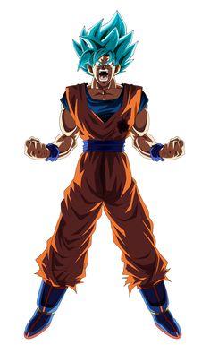 Super Saiyan God SS Goku by AbsolutelyYOSHAAA on DeviantArt