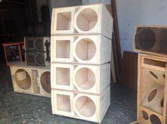 "Line 12"" 12 Inch Subwoofer Box, Subwoofer Box Design, Speaker Box Design, Woofer Speaker, Speaker Plans, Electronic Schematics, Professional Audio, Audio Speakers, Hardware"