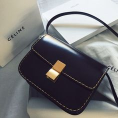 Most women can claim to have at least one purse they tote around everywhere. Whether it's a tiny shoulder bag or an oversize tote, having someplace to stash Clutch Purse, Crossbody Bag, Satchel, Fashion Gone Rouge, Celine Bag, Little Bag, Beautiful Bags, Handbag Accessories, Fashion Bags