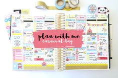Plan With Me - Carnival Day