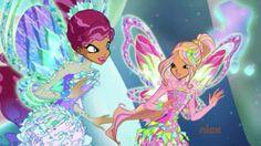 Aisha and Flora