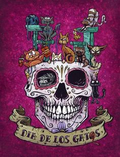 The Day of the Dead? Let's make it the Day of the Dog...every day! Paper PrintsThe 8 x 10 and...
