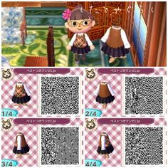 Animal Crossing new leaf QR codes • Posts Tagged 'dresses'