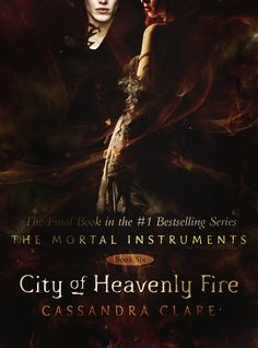 Fan made cover for City of Heavenly Fire...  there is another one........ @Casey Dalene Clark