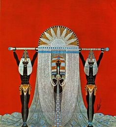 Art Deco Queen of Sheba