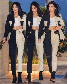 I love her outfit 😍 ( © these photos do not belonge to me! credits to the owners! Kendall Jenner Outfits, Kendall And Kylie Jenner, Look Fashion, Fashion Outfits, Womens Fashion, Estilo Kardashian, Outfit Invierno, Vetement Fashion, Ideias Fashion