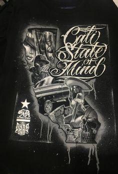 Open box (never used), Dyse One Tee shirt. Chicano Art Tattoos, Gangster Tattoos, San Jose Flea Market, Dreamer Tattoo, Og Abel Art, Behind Ear Tattoos, Chicago Tattoo, Tattoo Ideas, Tattoo Designs