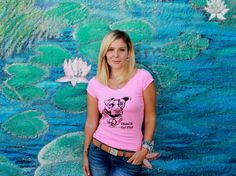 SALE - PIT-Bull Mom - Pit-Bull/ Staffie/ Bully t-shirt for women in Pink - Sizes S - 3X - sale by TheRescueShop on Etsy https://www.etsy.com/listing/129618865/sale-pit-bull-mom-pit-bull-staffie-bully