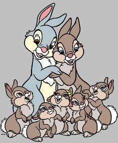 Thumper's Family