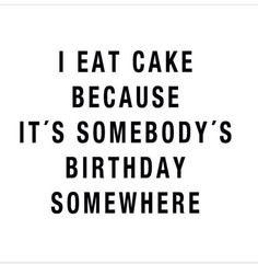And I love to celebrate other people's happiness