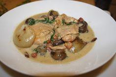 Chicken and tarragon casserole