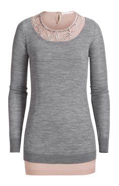 Schumacher undercover shirt (beading at neck) $215