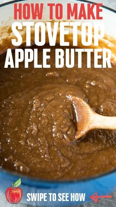 Jam Recipes, Canning Recipes, Apple Recipes, Appetizer Recipes, Cookie Recipes, Homemade Apple Butter, Homemade Applesauce, Butter Crock, Deserts