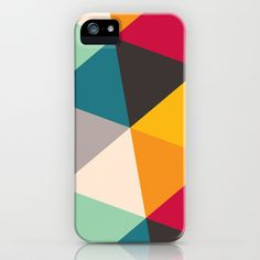 Tilting Triangles iPhone & iPod Case by Gary Andrew Clarke - $35.00