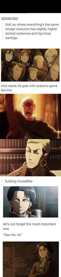 Attack on Titan / Shingeki no Kyojin || anime funny ~~~this is too perfect
