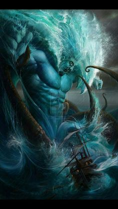 Cuanthes, God of Seas