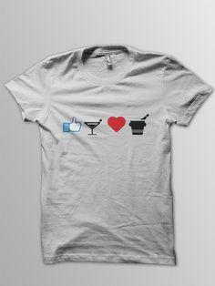 Pictogram Statement T-Shirts by Bujar Kabashi, via Behance