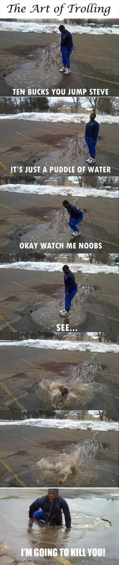Ahahahhahha the video for this is hilariouss :D can you imagine??? |   See More about funny pictures, pranks and pictures.