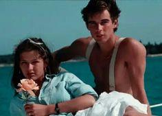"""Sophie Marceau et Pierre Cosso au Festival de Cannes en 1983, acteurs de """"La Boum 2"""" de Claude Pinoteau en 1982."""