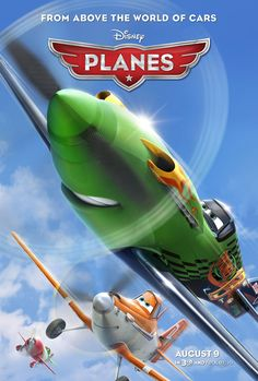 Planes #Movie #Poster #Disney #Pixar