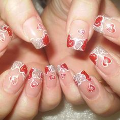 Greatest Valentines Day Nails 55 Vday Coronary heart Melting Nails Greatest Valentines Day Nails 55 Vday Coronary heart Schmelzende Nägel day nails acrylic french tips French Tip Nail Designs, Holiday Nail Designs, Diy Nail Designs, Colorful Nail Designs, Holiday Nails, Christmas Nails, White Nail Polish, Nail Polish Colors, French Nails