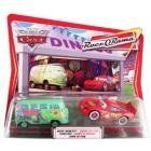 Disney  Pixar CARS Movie Moments 155 Die Cast Figure 2Pack Series 4 RaceORama Fillmore and Whitewalls Lightning McQueen -- Check out the image by visiting the link-affiliate link.