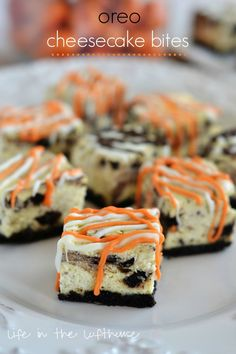 Oreo Cheesecake Bites - Life In The Lofthouse