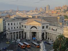 View from Grand Hotel Savoia Genoa Italy by garybembridge, via Flickr