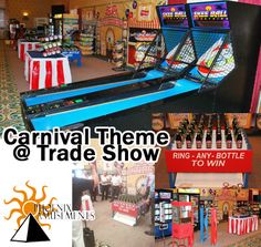 Looking for real carnival games for your next tradeshow or corporate event?  Perfect for those company picnics and family reunions too!  Phoenix Amusements carrys full size Skeeball, Vintage Popcorn Cart and Popcorn Machine, Photo Booths, Basketball and Football Games, Traditional Ring Toss, Prize Wheel, Money Booths, Plinko, Cornhole and more!  Our games or not the flimsy tabletop games but the full size ones!  Call us today to book your carnival theme games 404-767-4420.