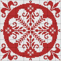 Square I may be a bit obsessed. Cross Stitch Pillow, Just Cross Stitch, Cross Stitch Charts, Cross Stitch Designs, Cross Stitch Patterns, Stitch Crochet, Filet Crochet, Crochet Chart, Cross Stitching