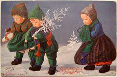 Vintage Oilette postcard | von *blythe-berlin*