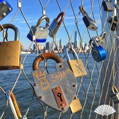 Love from Hoboken, NJ. August 2015. #MyViewYork Photo: @CXCArtist. #Locks…