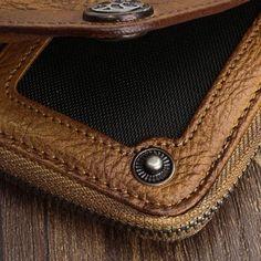 040f8ef8d9c5 Handmade Mens Cool Long Leather Chain Wallet Cards Biker Trucker Wrist –  iChainWallets