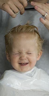 Bei Kindern Haare selber schneiden
