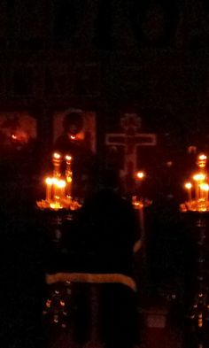 Holy Friday Matins - the Cross