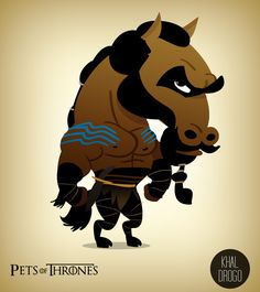 Khal Drogo - Humorous Pets of Thrones Series - My Modern Metropolis