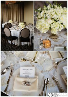 The Ballroom Is Dressed Presents Are Wred Weddings Pinterest Parks And Hotels
