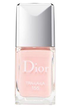 Dior 'Vernis' Gel Shine & Long Wear Nail Lacquer in Tra La La
