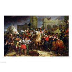 The Entry of Henri IV Canvas Art - Francois Gerard (24 x 18)