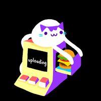 Cindy Suen uploads upload animation cat