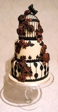 Gothic wedding cake again
