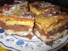 jablecznik z chalwa French Toast, Deserts, Breakfast, Food, Recipes, Breakfast Cafe, Desserts, Meal, Rezepte