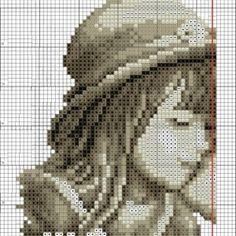 Схема вышивки Поцелуй (Vervaco) 1 из 4